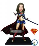 Custom Superwoman Bobbleheads Action Dolls 9.2 inches