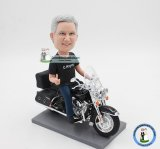 Custom Motorcycle Bobble Heads From Photo