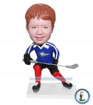 Custom Hockey Player Bobblehead