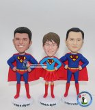 Wholesale Custom Superman Bobbleheads From Photo 3+