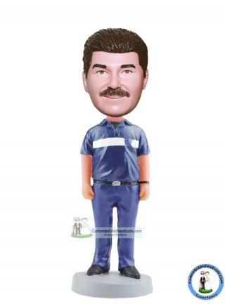 Custom Policemen Bobblehead Make