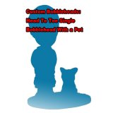 Custom personalized bobbleheads and Pets Bobblehead from photo