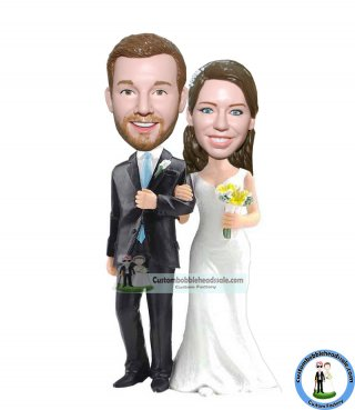 Customized Bobblehead Cake Toppers Wedding Gifts
