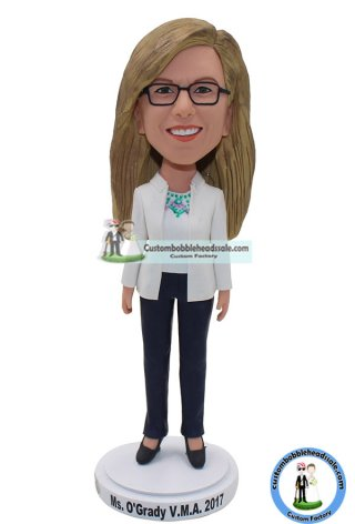 Personalized Suit Bobbleheads Cheap