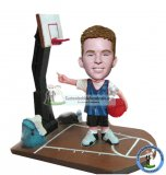Custom Bobbleheads Boy Playing Basketball