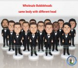 Bobbleheads Wholesale Thumbs Up Suit Bobble Head