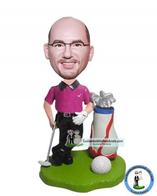 Personalized Golf Bobbleheads From Photo Christmas Gift Ideas
