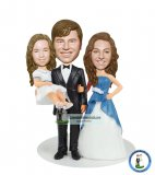Custom Baby Bobblehead Wedding Topper