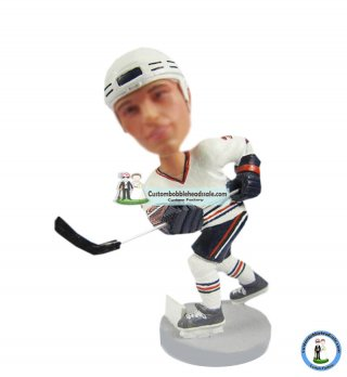 Custom Bobblehead Hockey Player From Photo