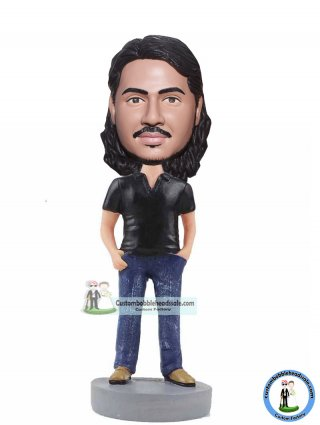 One Custom Bobblehead Personalized Gifts For Him