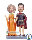 Custom king And Queen Of Bobbleheads