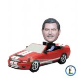 Custom Motoring Car Bobbleheads