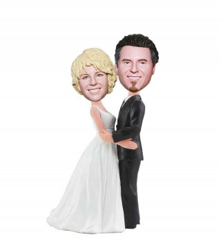 Custom Wedding Bobblehead From Photo