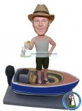 Custom Bobblehead Yacht Fishing Dolls