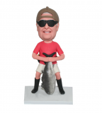Custom Fisherman Bobblehead Gifts For Men