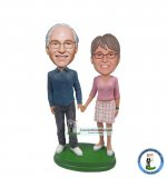 Make Your Parents Bobblehead Wedding Anniversary Gifts