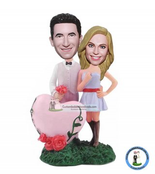 Custom Bobble Head Couple