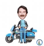 Custom Bobblehead Motorcycle