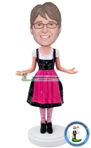 Personalized Maid Costume Bobbleheads