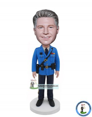 Custom Policemen Bobble Heads Doll