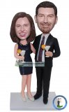 Custom Bobblehead Couple