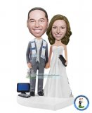 Make Your Own Wedding Couple Bobble Head