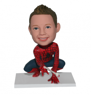 Custom Bobblehead Spiderman From Photo