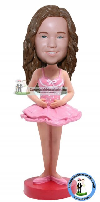Make A Custom Ballerina Girl Bobblehead