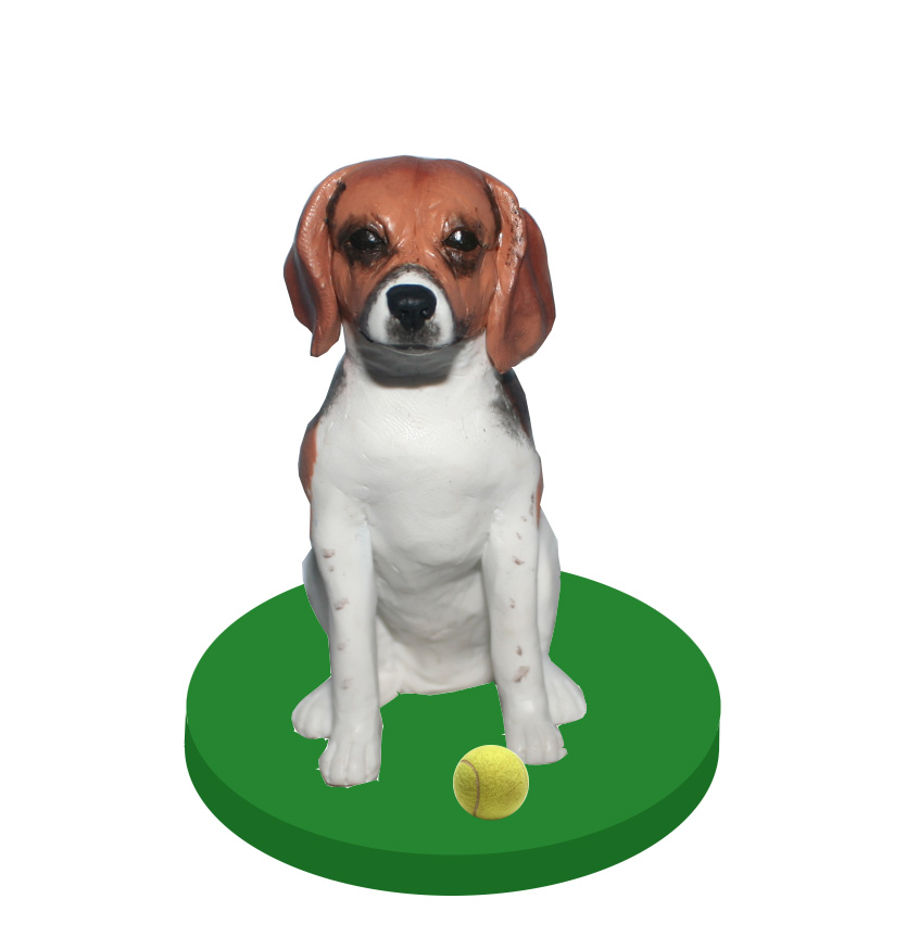 customized your own pet dog bobblehead