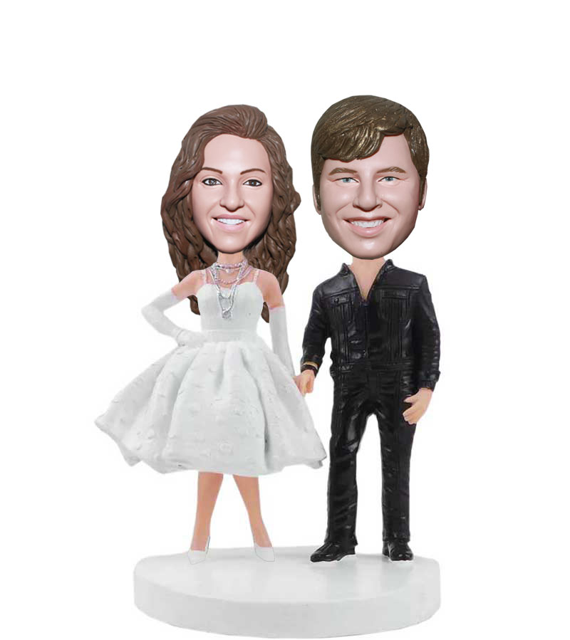 bobblehead wedding cake topper custom bobblehead wedding cake toppers 1994